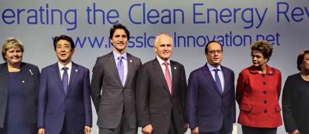 World leaders at the 2015 UN Climate Change Conference (Credit: UN)