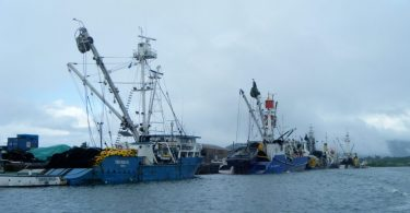 Tuna purse seine vessels (Credit USCG Press CC BY 2.0)
