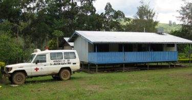 Kwongi Health Centre in Eastern Highlands, PNG (Photo credit: Manuel Hetzel)