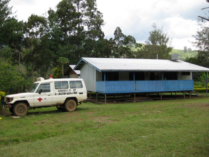 Kwongi Health Centre in Eastern Highlands, PNG (Photo credit: Manuel Hetzel)