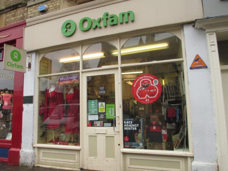 The first Oxfam shop in Oxford, UK. (Credit: Matt Brown/Flickr CC BY 2.0)