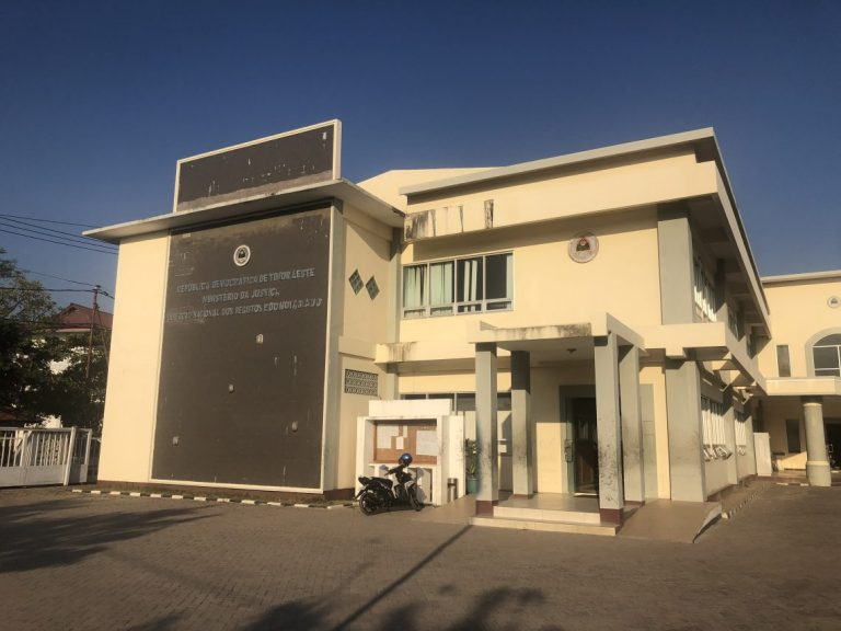 The National Registry and Notarisation Directorate in the Ministry of Justice in Timor-Leste (Photo: Gordon Peake)