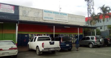 The Pacifika Women Network Trade Centre reopened in May after closing its operations for eight weeks due to the COVID-19 lockdown (Photo credit: Jotam Sinopane)