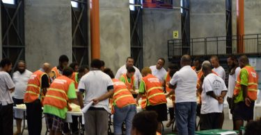 Election officials sort votes during PNG's 2017 national election (Commonwealth Secretariat, CC BY-NC 2.0)