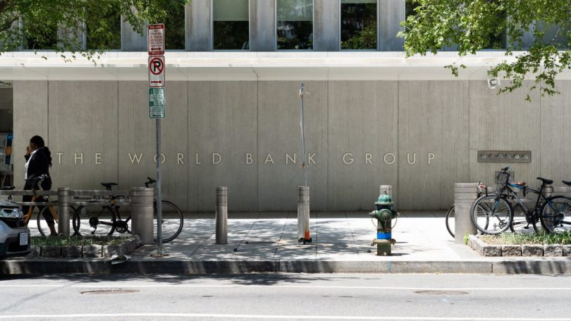 The World Bank Group building in Washington DC (Jonathan Cutrer/Flickr CC BY 2.0)
