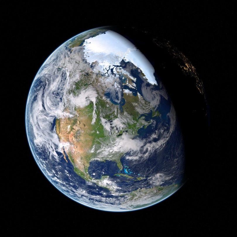 Green New Deal: Earth (Burnt Pineapple