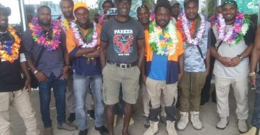 Workers return to Vanuatu following their time in Australia.