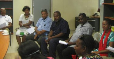 Tok stori in action in Solomon Islands (Kabini Sanga)