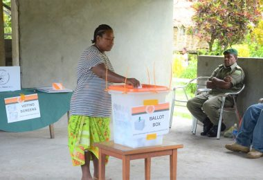 The 2019 Solomon Islands National General Elections (Commonwealth Secretariat/Flickr CC BY-NC 2.0)