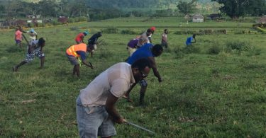 As part of the recruitment process, agents test the stamina of prospective workers for horticulture work