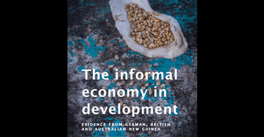 The informal economy in development