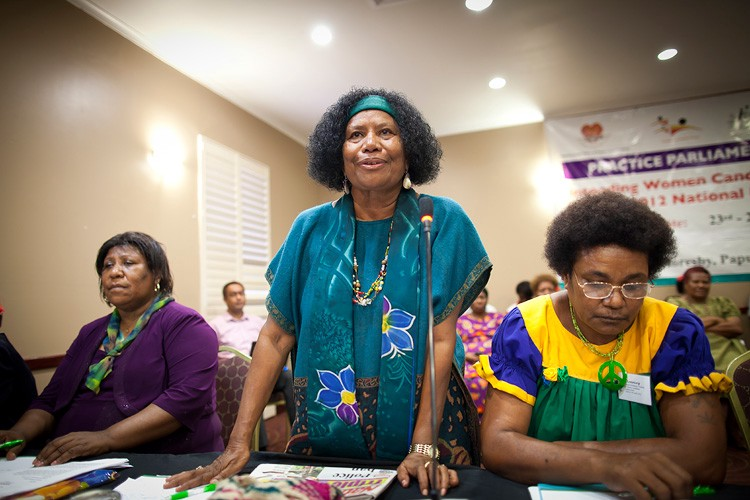 Reserved seats in PNG: lessons learnt