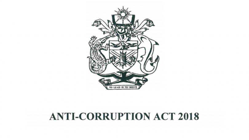 Anti-Corruption Act 2018