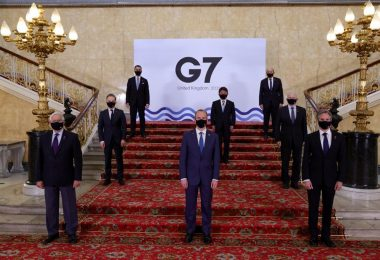 G7 Foreign Ministers adopted a new famine prevention and humanitarian crises compact when they met in London in May