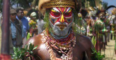 Man in Goroka PNG