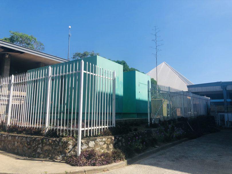 Standby generator at the University of PNG (Michael Kabuni)