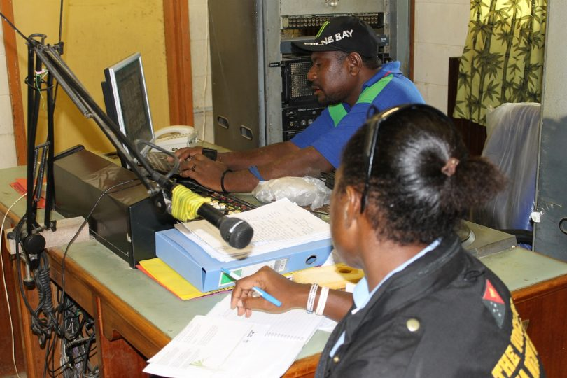 Communication, information and the media in PNG