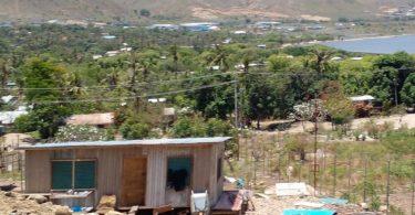 Joyce Bay settlement (Desmond Narongou)