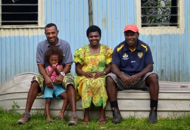 ni-Vanuatu workers back home after working in Australia on the SWP scheme (World Bank-Flickr)